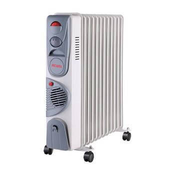 Масляный радиатор Ресанта ОМ-12НВ 2,5 кВт
