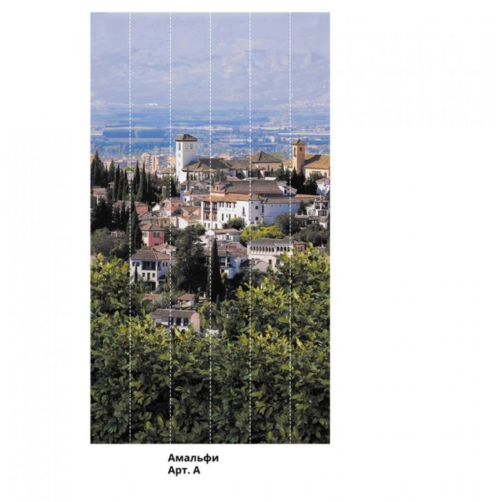 Панно из ПВХ-панелей с цифровой печатью Амальфи