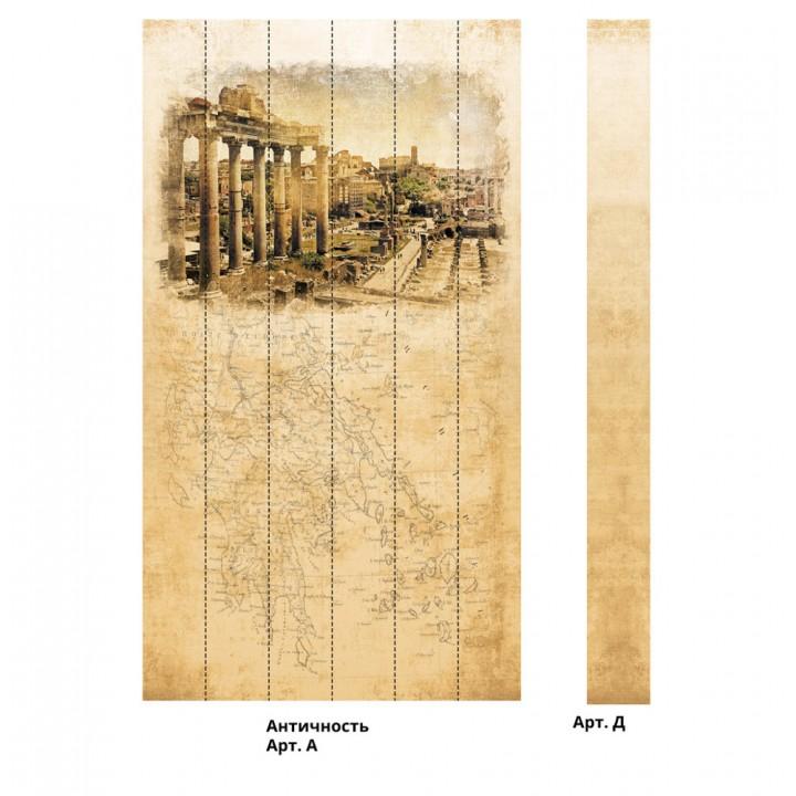 Панно из ПВХ-панелей с цифровой печатью Античность