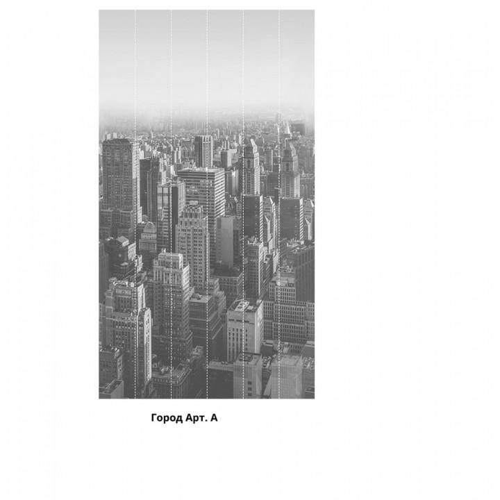 Панно из ПВХ-панелей с цифровой печатью Город