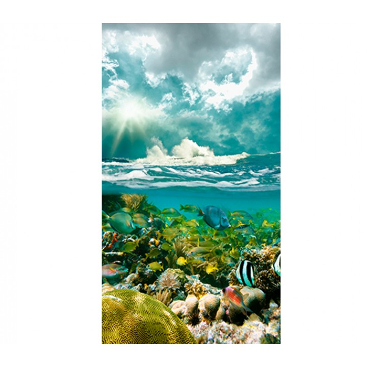 Панно из ПВХ-панелей с цифровой печатью Подводный мир