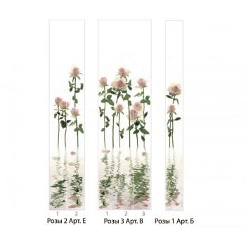 Панно из ПВХ-панелей с цифровой печатью Розы