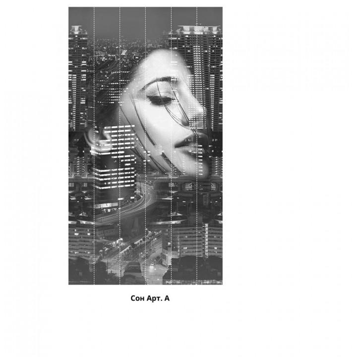 Панно из ПВХ-панелей с цифровой печатью Сон