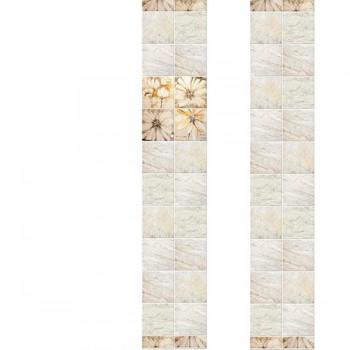 ПВХ-панели с имитацией плитки Дива