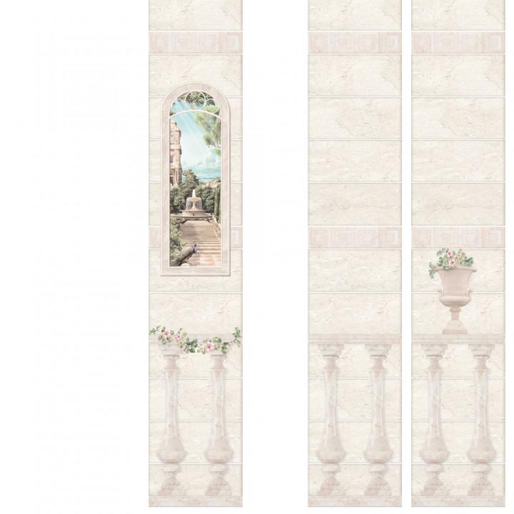 ПВХ-панели с имитацией плитки Феодосия 1