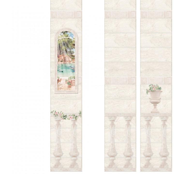 ПВХ-панели с имитацией плитки Феодосия 2