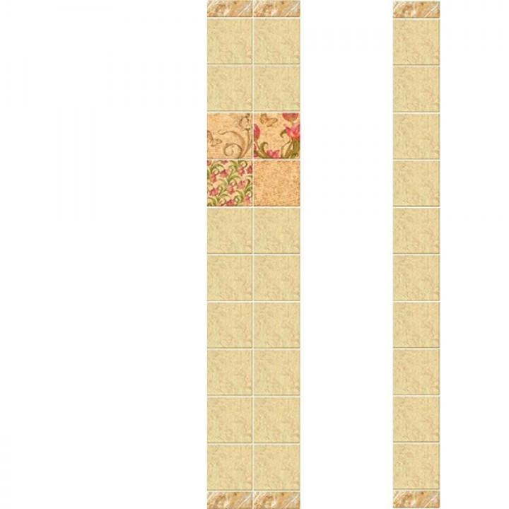 ПВХ-панели с имитацией плитки Генриетта
