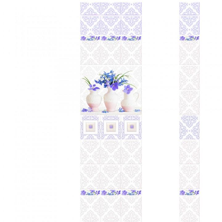 ПВХ-панели с имитацией плитки Грация