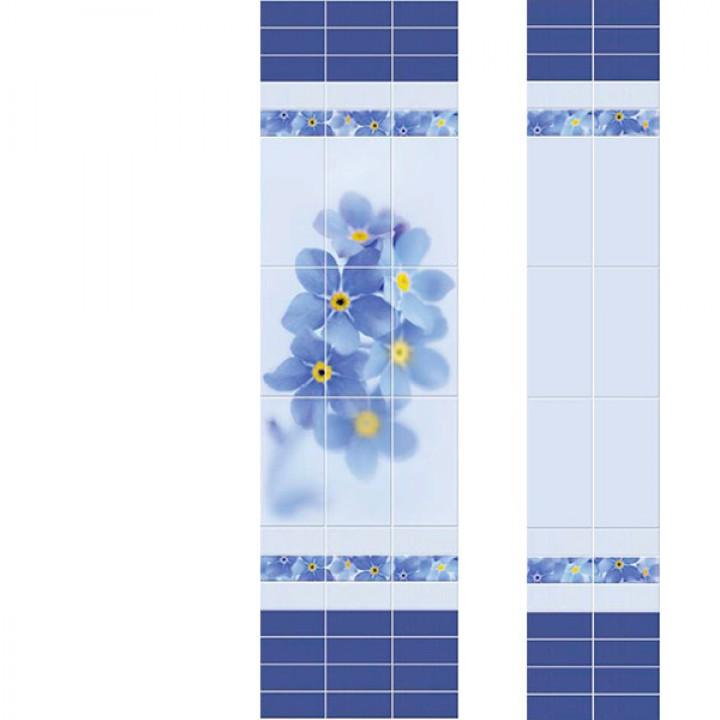 ПВХ-панели с имитацией плитки Линда