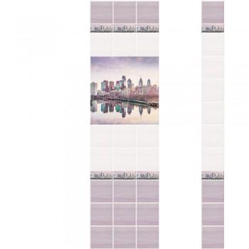 ПВХ-панели с имитацией плитки Мегаполис