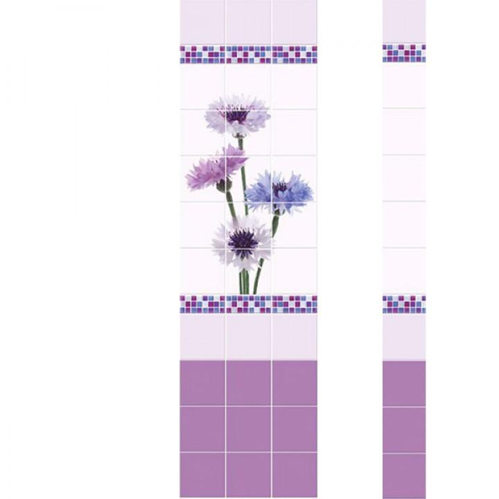 ПВХ-панели с имитацией плитки Милена