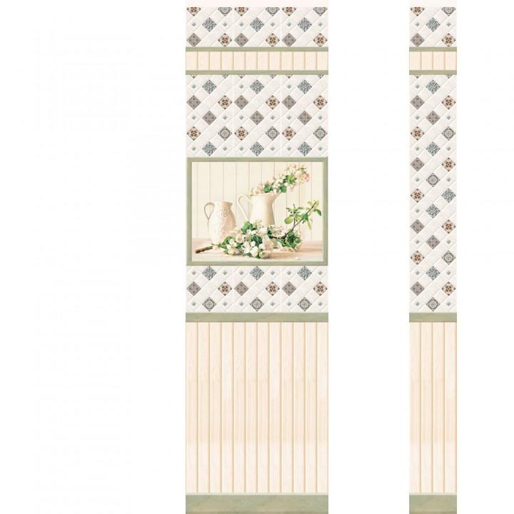 ПВХ-панели с имитацией плитки Провинция 2