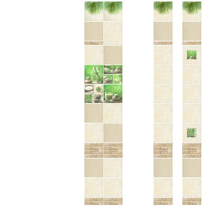 ПВХ-панели с имитацией плитки Релакс