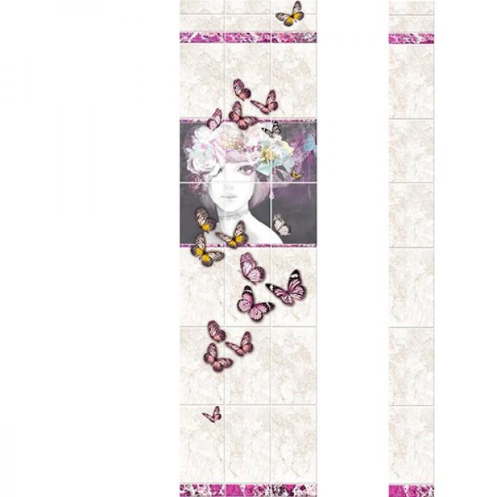 ПВХ-панели с имитацией плитки Селена