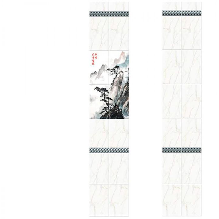 ПВХ-панели с имитацией плитки Япония