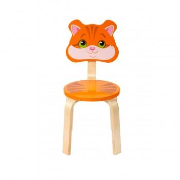 Детский стульчик Polli Tolli Мордочки Котёнок