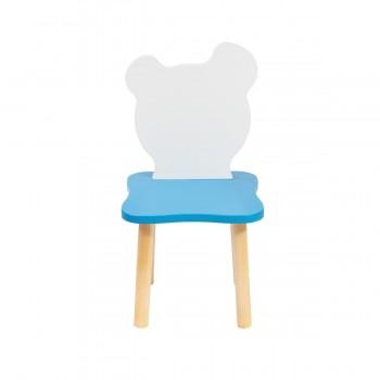 Детский стульчик Polli Tolli Джери Бело-голубой