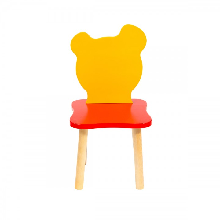 Детский стульчик Polli Tolli Джери Красно-желтый