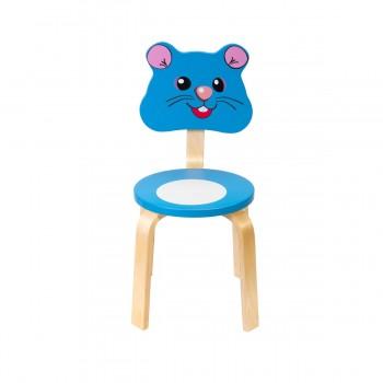 Детский стульчик Polli Tolli Мордочки Мышка