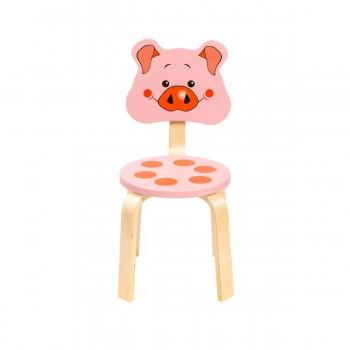 Детский стульчик Polli Tolli Мордочки Поросёнок