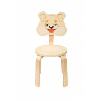 Детский стульчик Polli Tolli Мордочки Собачка