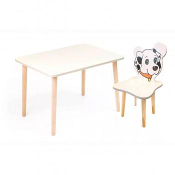 Комплект детской мебели Polli Tolli Джери с белым столиком