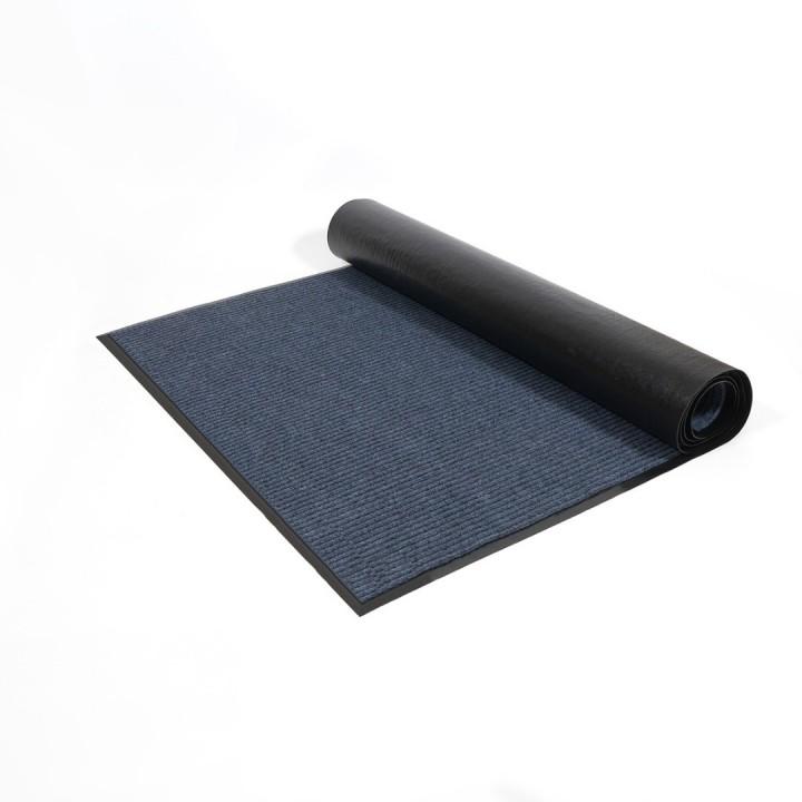 Коврик влаговпитывающий ребристый SunStep 100x200 см серый 35-081