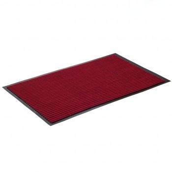 Коврик влаговпитывающий ребристый SunStep 40x60 см бордовый 35-034
