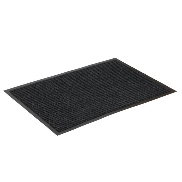 Коврик влаговпитывающий ребристый SunStep 90x150 см черный 35-073