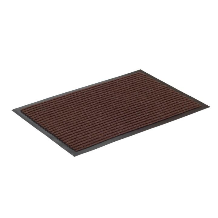 Коврик влаговпитывающий ребристый SunStep 50x80 см коричневый 35-042