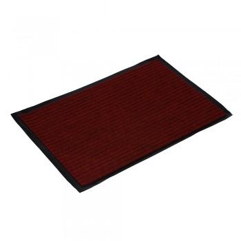 Коврик влаговпитывающий ребристый VORTEX 40х60 см красный 22077
