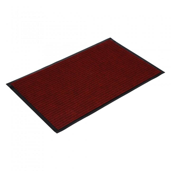 Коврик влаговпитывающий ребристый VORTEX 50х80 см красный 22083