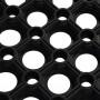 Коврик ячеистый грязесборный VORTEX 80х120х1,6 см 20003