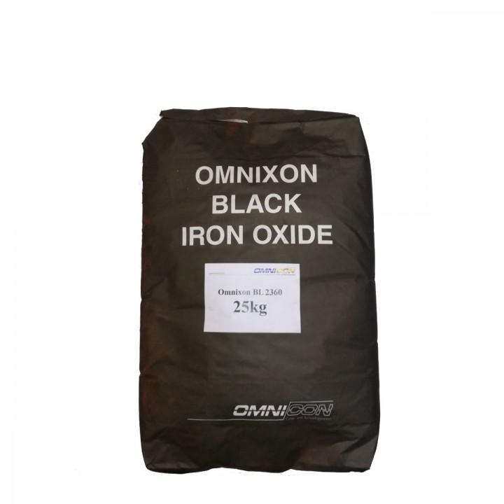 Пигмент для бетона черный Omnicon BL 2360 фасовка по 2,5кг