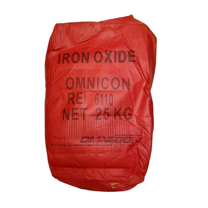 Пигмент для бетона кирпично-красный Omnicon RE 6110 расфасовка по 1кг