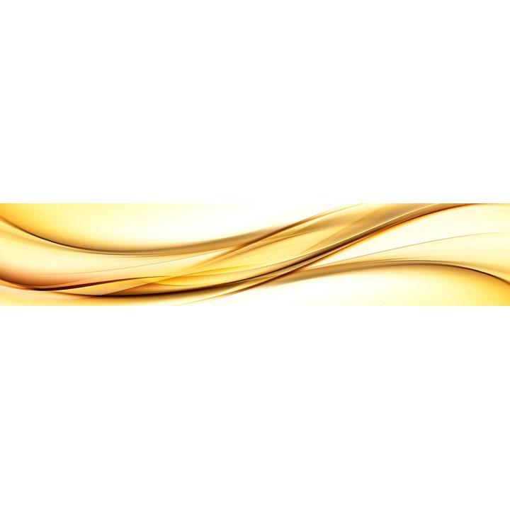 Кухонный фартук Золотая волна