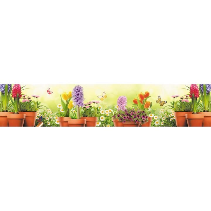 Кухонный фартук Летний сад