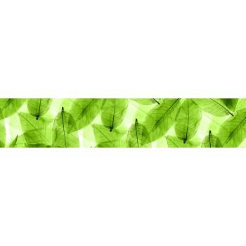 Кухонный фартук Прозрачные листья