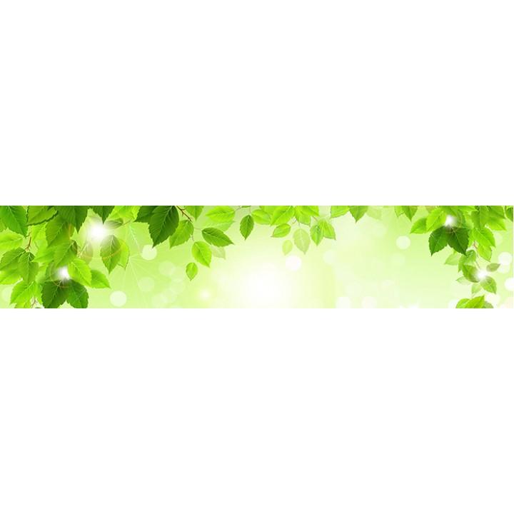 Кухонный фартук Зеленая листва