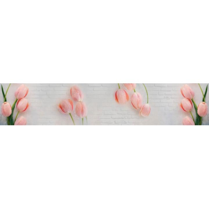 Кухонный фартук Нежные тюльпаны