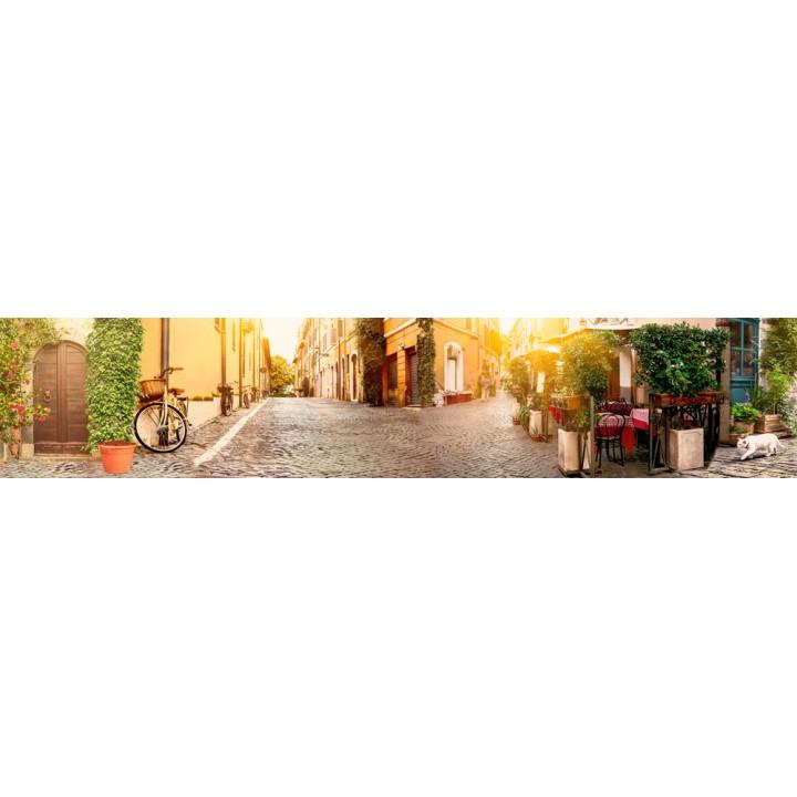 Кухонный фартук Итальянская улочка