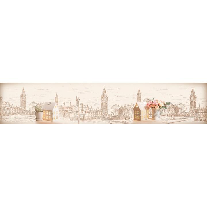 Кухонный фартук Зарисовка Лондона