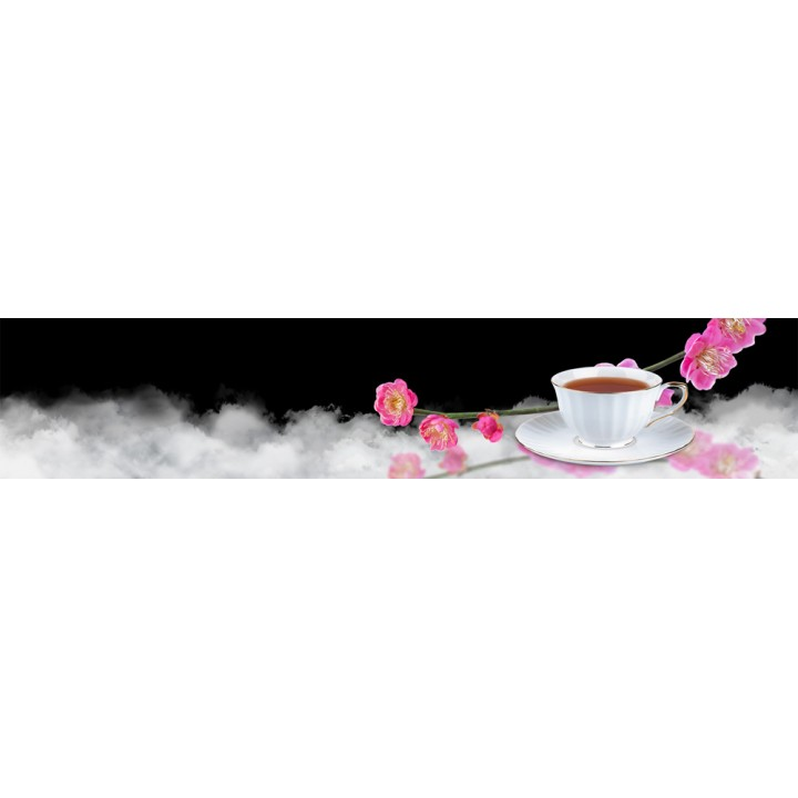 Кухонный фартук Чайная орхидея