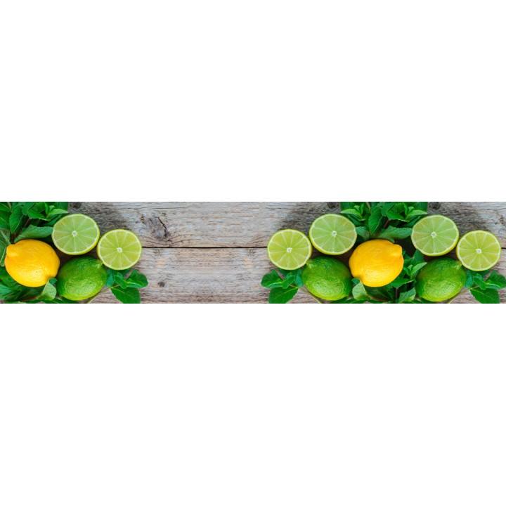 Кухонный фартук Лимоны и лайм