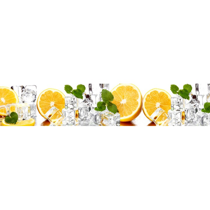 Кухонный фартук Апельсины и лед