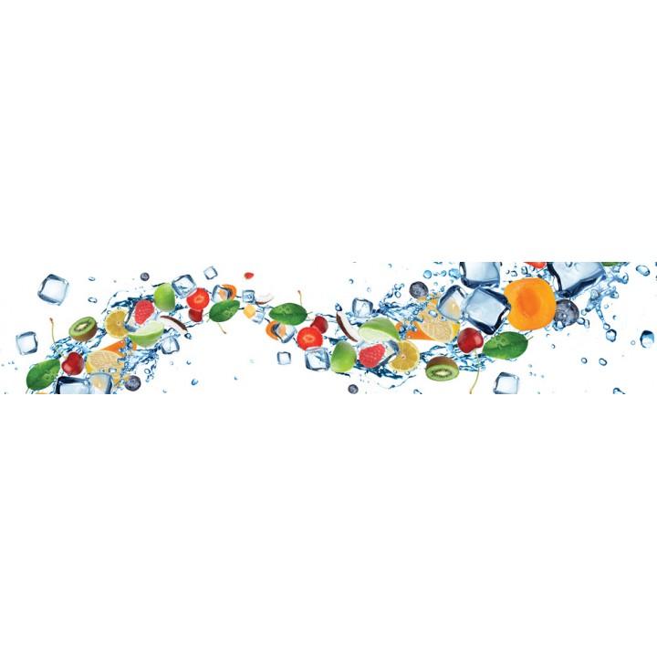 Кухонный фартук Фруктовый лед