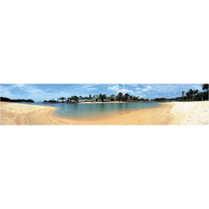 Кухонный фартук Тропический пляж