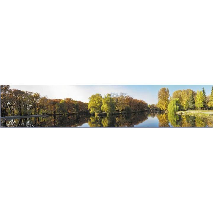 Кухонный фартук Осень в парке