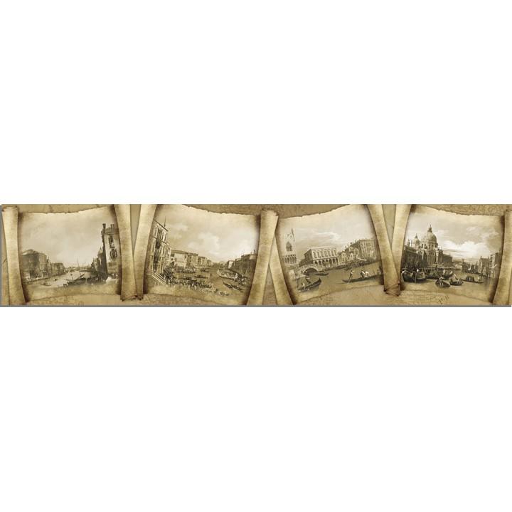 Кухонный фартук Старинные свитки