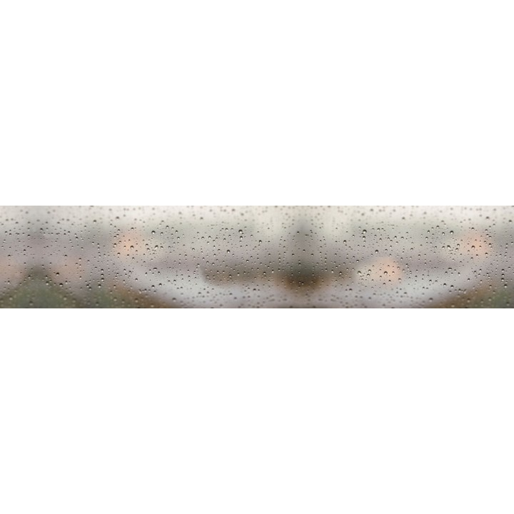 Кухонный фартук Дождь за окном